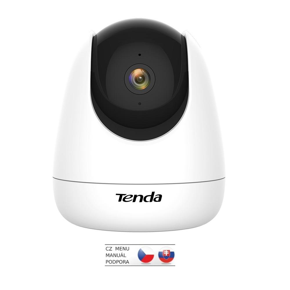 Tenda CP3 Security 1080p Wi-Fi otočná kamera, noční vidění, dvoucestné audio, microSD, CZ aplikace - CP3