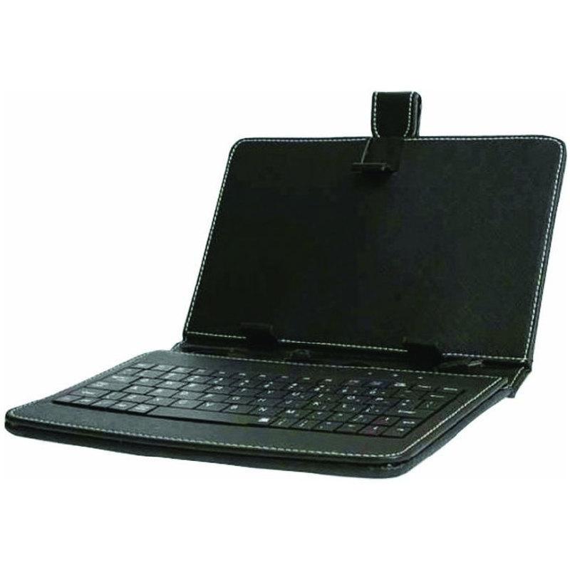 iGET F9B Pouzdro 9'' s klávesnicí - černá