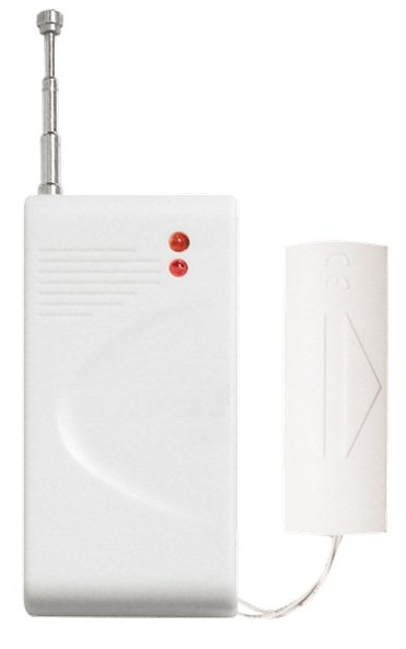 iGET SECURITY P10 - bezdrátový detektor vibrací pro alarm M3B a M2B