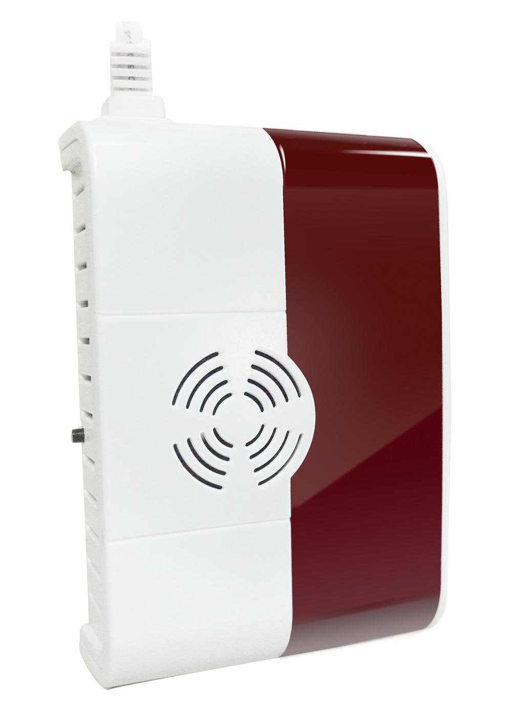 iGET SECURITY P6 - bezdrátový detektor plynu LPG/LNG/CNG, samostatný nebo pro alarm M3B a M2B - SECURITY P6