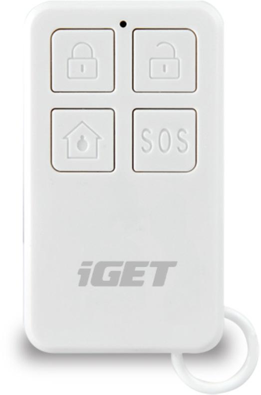 iGET SECURITY M3P5 - dálkové ovládání (klíčenka) pro alarmy M3 a M4