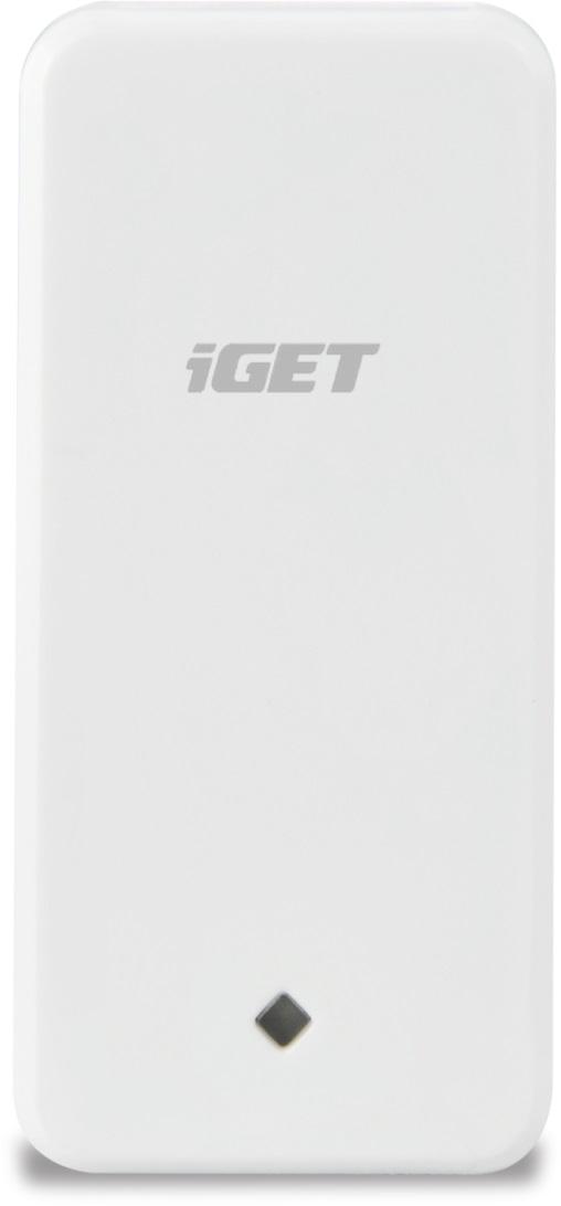 iGET SECURITY M3P10 - bezdrátový detektor vibrací (rozbití skla apod.) pro alarmy M3 a M4