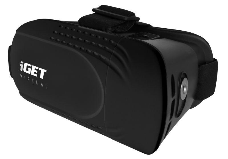 iGET VIRTUAL R1 - brýle pro 3D virtuální realitu