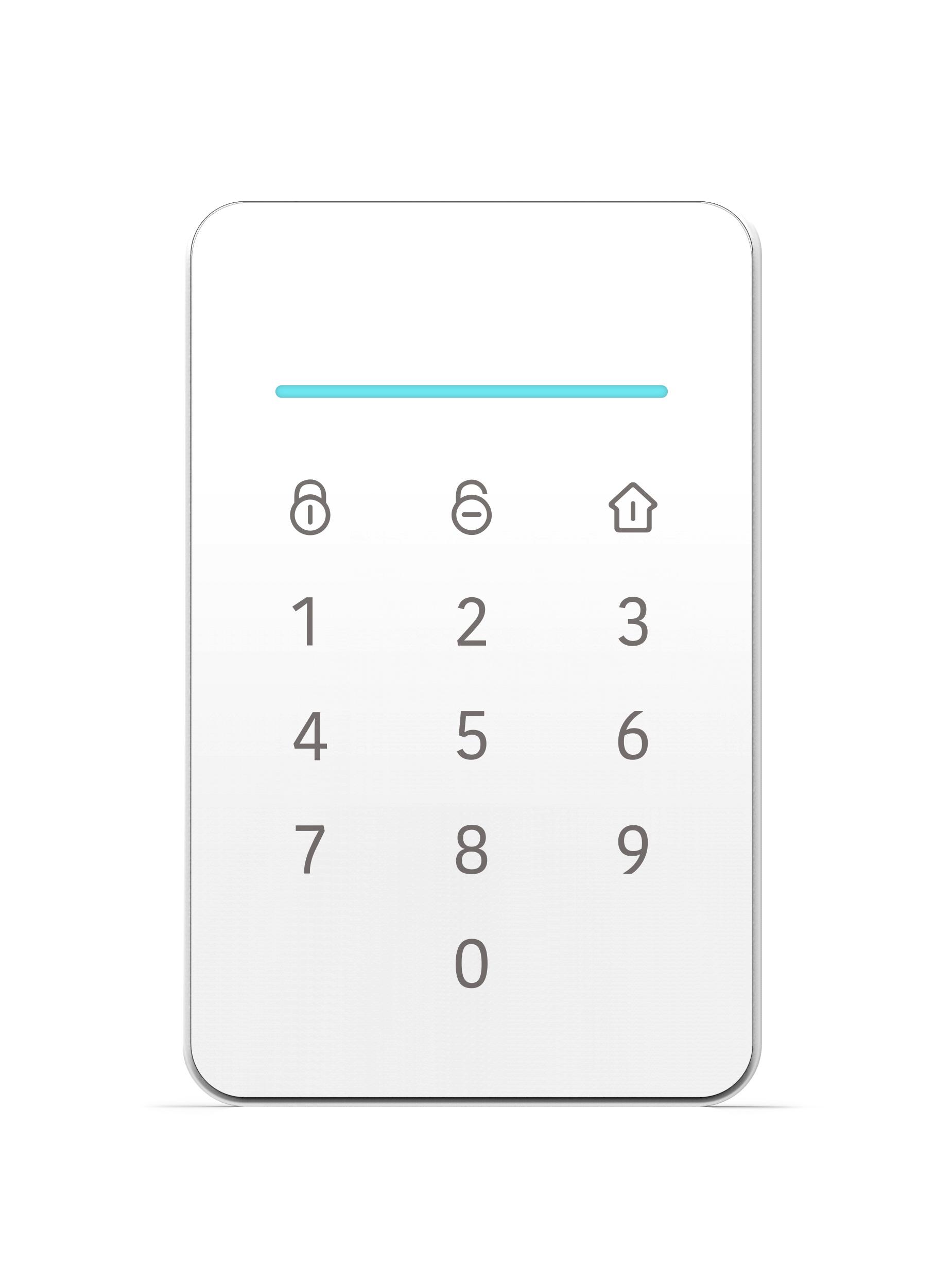 iGET SECURITY M3P13v2 - bezdrátová klávesnice s RFID čtečkou pro alarmy M3 a M4 - SECURITY M3P13v2