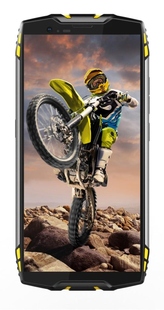 iGET Blackview GBV6800 Pro Yellow odolný telefon, 5,7' FHD, 4GB+64GB, DualSIM, 4G, 6580mAh, NFC