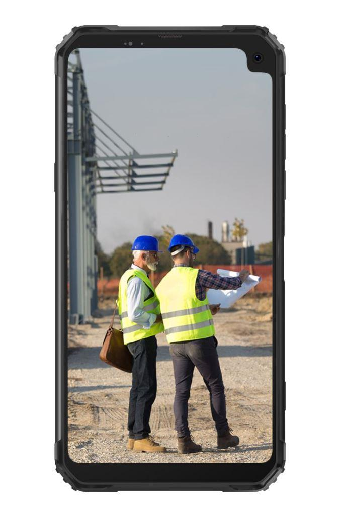iGET Blackview GBV6100 Black odolný telefon, 6,88'' HD, 3GB+16GB, DualSIM, 4G, 5580mAh, NFC, MIL-STD