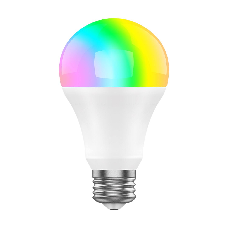iGET SECURITY DP23 - WiFi LED žárovka E27, 8W, RGB+W, samostatná a pro iGET M4, stmívatelná,16 mil. - DP23
