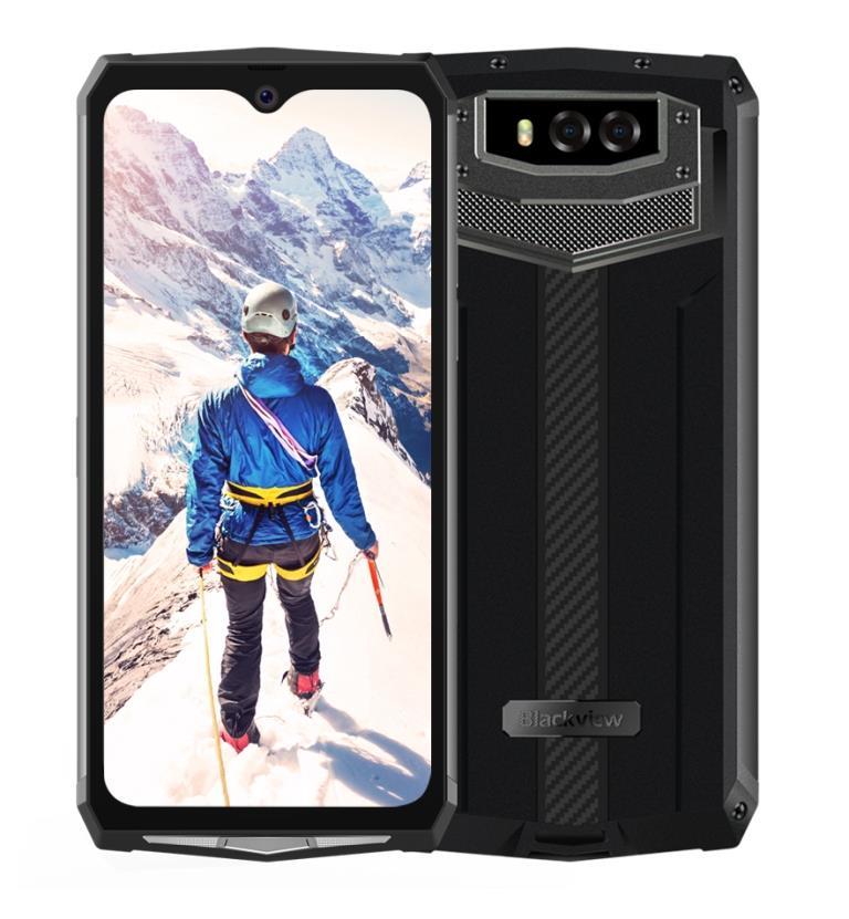 iGET Blackview GBV9100 Black odolný telefon, 6,3'' FHD+, 4GB+64GB, DualSIM 4G, MIL-STD-810G, NFC