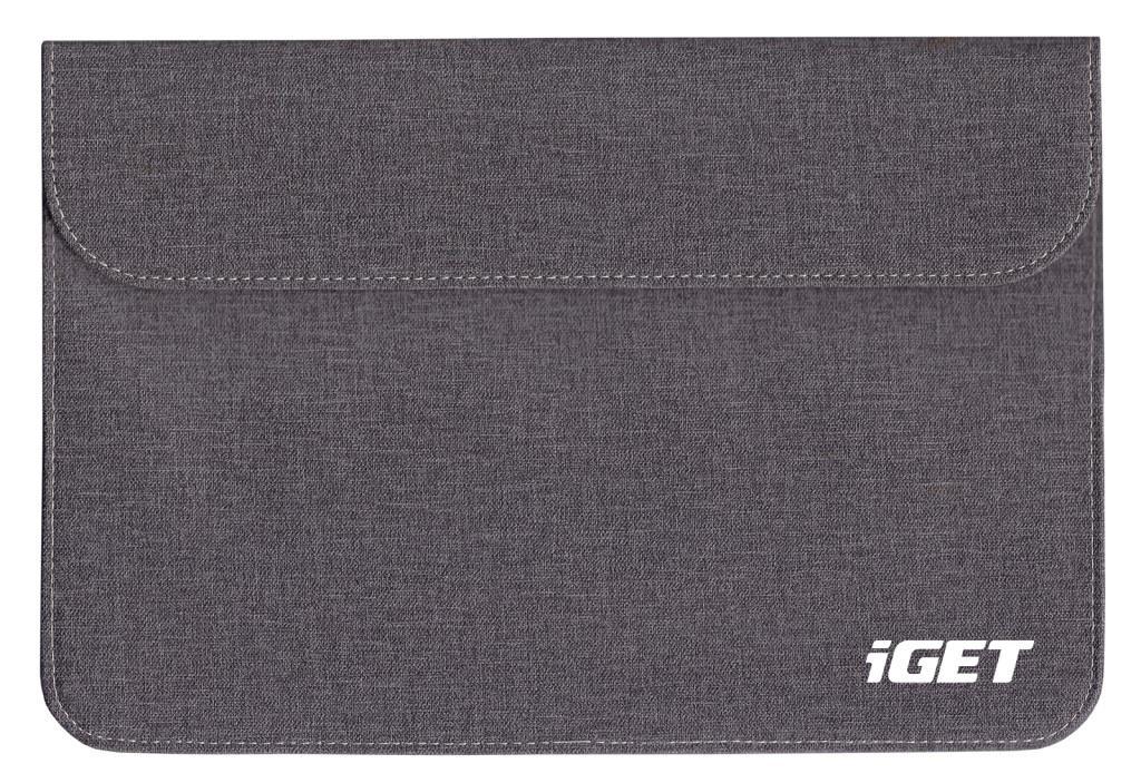 iGET iC10 - univerzální pouzdro do 10.1'' pro tablety, s magnetickým uzavíráním - šedočerná - iC10