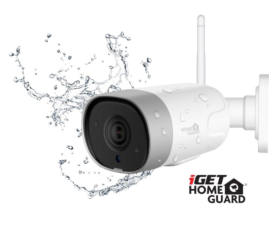 iGET HGWOB852 - WiFi venkovní IP FullHD 1080p kamera,krytí IP66,mikrofon + reproduktor,LAN,ONVIF 2.5 - HGWOB852
