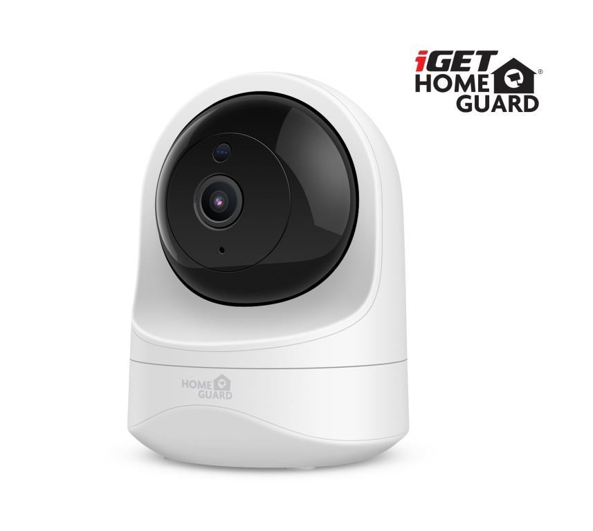 iGET HGWIP819 - WiFi rotační IP FullHD 1080p kamera,noční vidění,mikrofon + reproduktor,microSD slot - HGWIP819