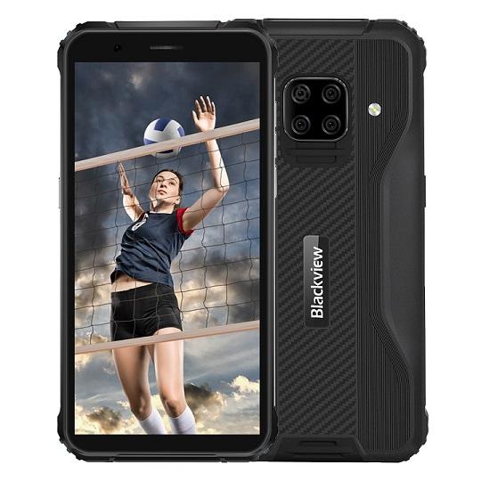 iGET Blackview GBV5100 Black odolný telefon, 5,7'' HD+ IPS, 4GB+128GB, DualSIM, 4G, 5580mAh, NFC