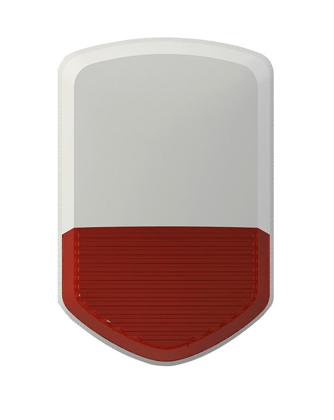 iGET SECURITY P11v2 - venkovní siréna napájená adaptérem nebo bateriemi, pro alarm M3B a M2B - SECURITY P11v2
