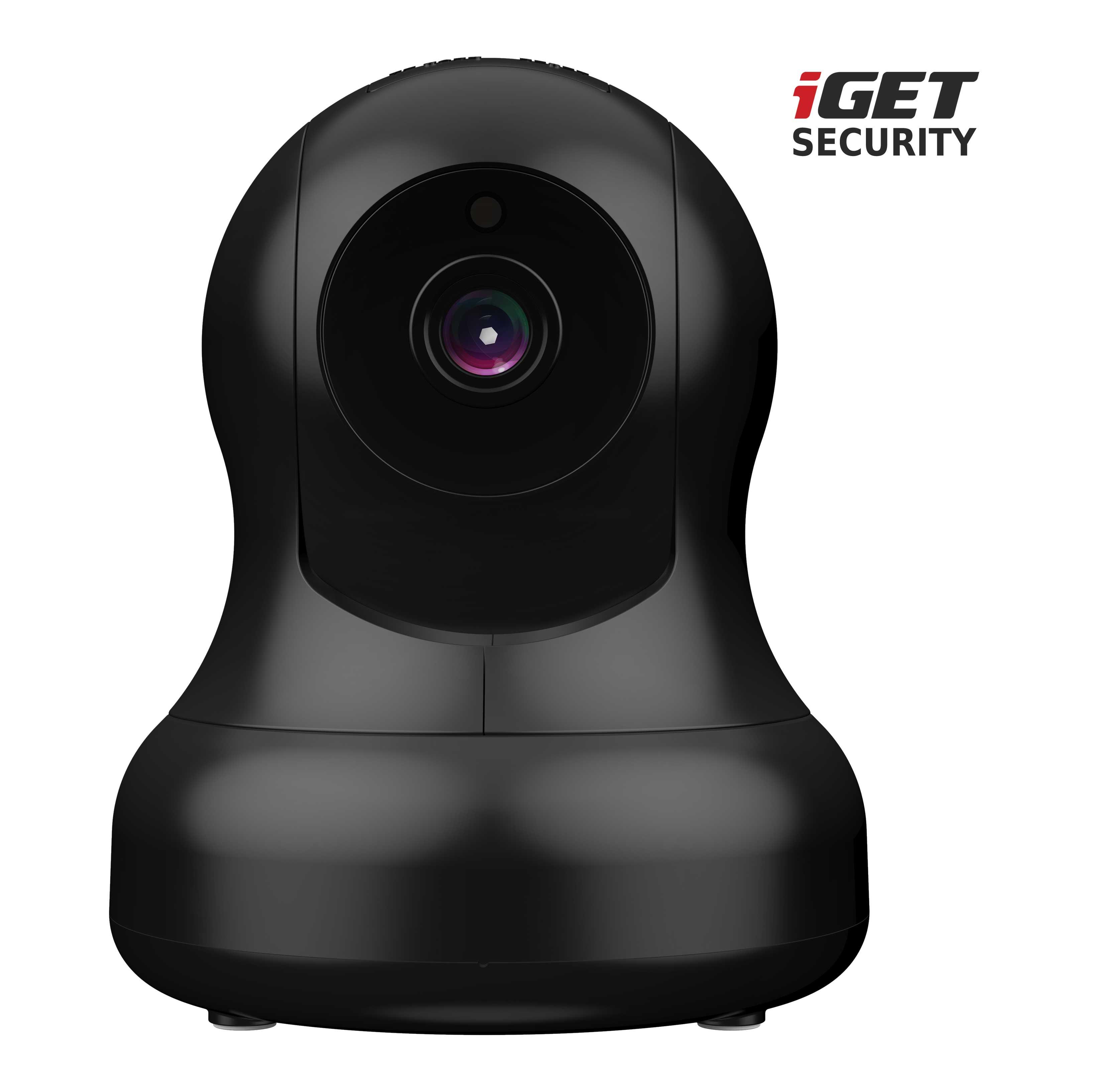 iGET SECURITY EP15 - WiFi rotační IP FullHD 1080p kamera,noční LED,microSD, pro alarmy iGET M4 a M5 - EP15