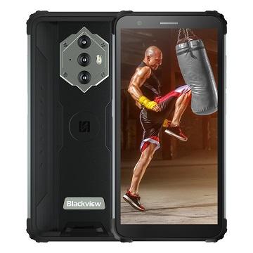 iGET Blackview GBV6600 Black odolný telefon, 5,7'' HD+ IPS, 4GB+64GB, DualSIM, 4G, 8580 mAh, NFC