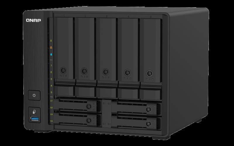 QNAP TS-932PX-4G (1,7GHz / 4GB RAM / 5x 3,5'' + 4x 2,5'' SATA / 2x 2,5GbE / 2x 10G SFP+ / 3x USB 3.2) - TS-932PX-4G