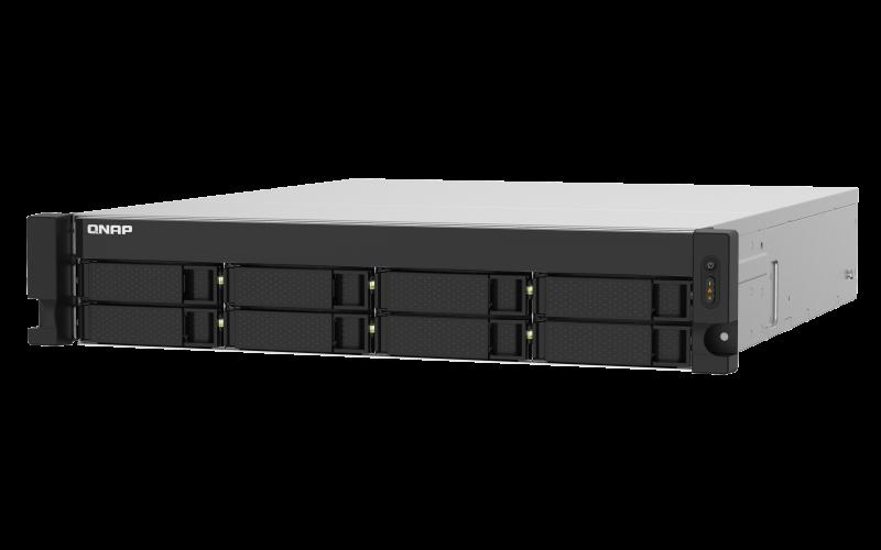 QNAP TS-832PXU-RP-4G (1,7GHz / 4GB RAM / 8x SATA / 2x 2,5GbE / 2x 10GbE SFP+ / 1x PCIe / 2x zdroj)