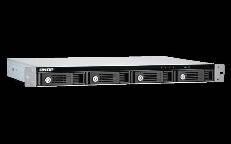 QNAP TR-004U rozšiřovací jednotka pro PC, server či QNAP NAS (4x SATA / 1 x USB 3.0 typu C) - TR-004U