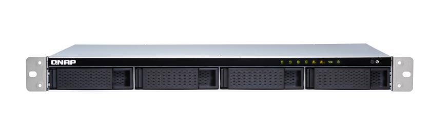 QNAP TS-431XeU-2G (1,7GHz / 2GB RAM/4xSATA/2xGbE/1x10GbE SFP+/4xUSB 3.0/malá hloubka)