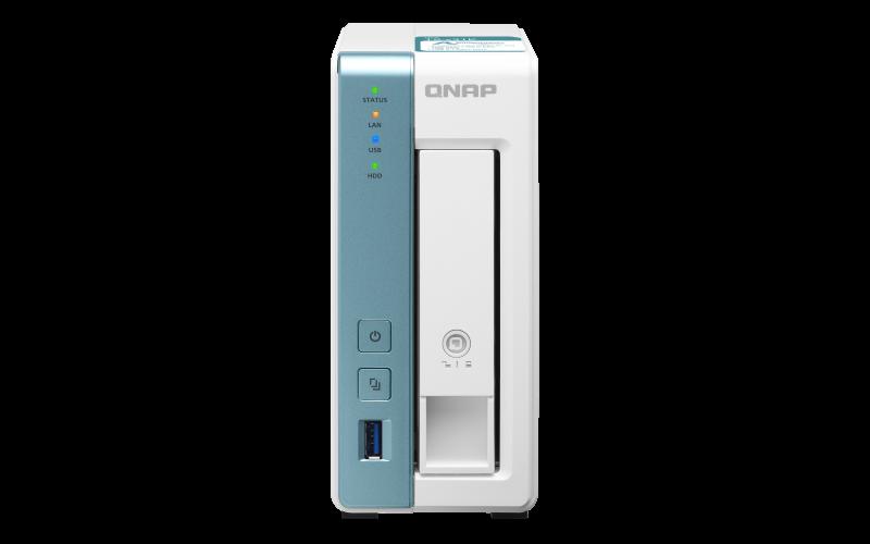 QNAP TS-131K (4core 1,7GHz / 1GB RAM DD3 / 1x SATA / 1x GbE / 3x USB 3.2 Gen1 / Snímky - Snapshots)