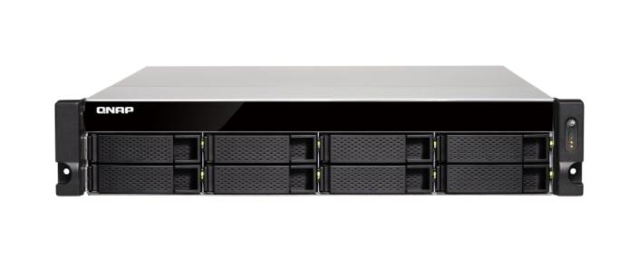 QNAP TS-853BU-4G (2,3GHz / 4GB RAM / 8x SATA / 4x GbE / 1x PCIe slot / 1x HDMI / 4x USB 3.0)