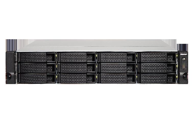 QNAP TS-1253BU-RP-4G (2,3GHz / 4GB RAM / 12xSATA / 4xGbE / 1xPCIe / 1x HDMI / 4x USB 3.0 / 2x zdroj)