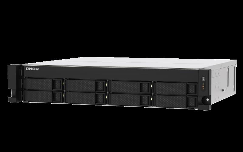 QNAP TS-873AU-4G (Ryzen V1500B 2,2GHz / 4GB RAM / 8x SATA / 2x 2,5GbE / 2x PCIe / 3x USB 3.2) - TS-873AU-4G