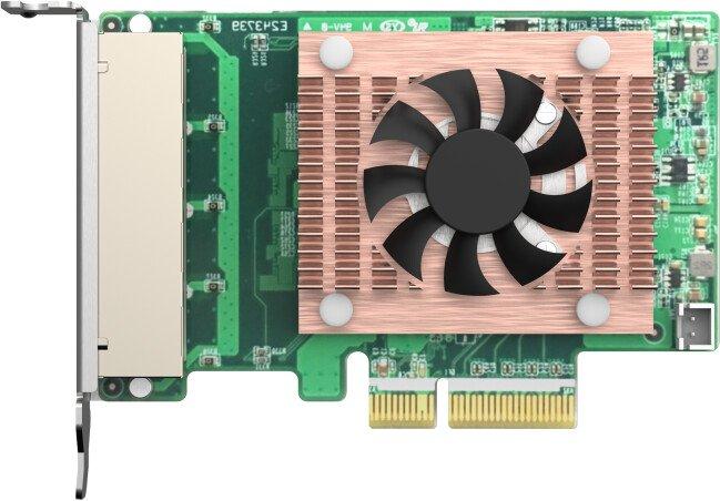 QNAP QXG-2G4T-I225 - 2,5GbE (4 porty) PCIe karta pro PC i NAS - QXG-2G4T-I225