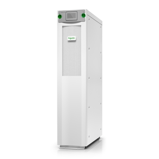 Galaxy VS UPS 15kW 400V, 1 internal 7Ah smart modular battery string, expandable to 2, Start-up 5x8
