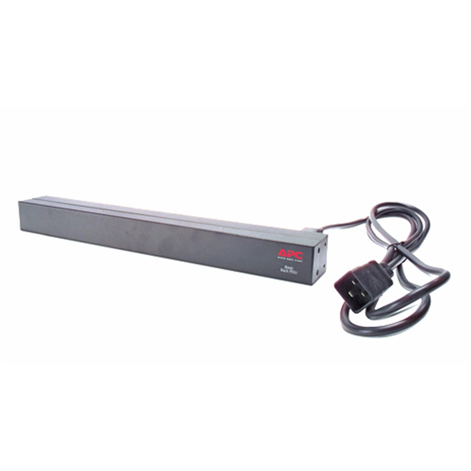 APC Rack PDU, Basic, 1U, 16A, 230V, AP9565