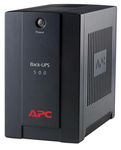 APC Back-UPS 500VA,AVR, IEC outlets - BX500CI