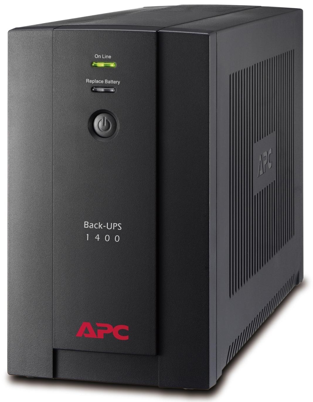 APC BACK-UPS 1400VA, 230V, AVR, French Sockets