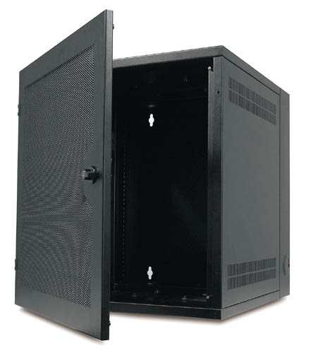 NetShelter WX 13U Enclosure w. vented front door