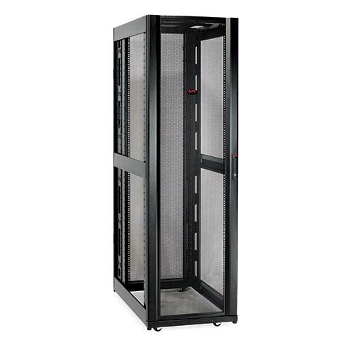 NetShelter SX 42Ux600x1070mm wo.sides, black