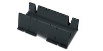 NetShelter Shielding Trough 750mm wide Black