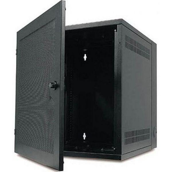 NetShelter VS Front Door 25U Black