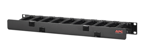 Horizontal Cable Manager, 1U Single Side w.Cover