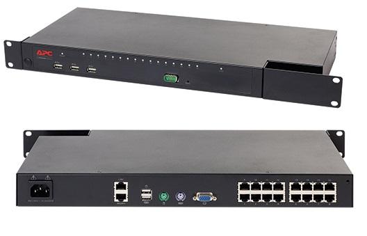 APC KVM 2G, Digital/IP, 1 Remote User, KVM1116P