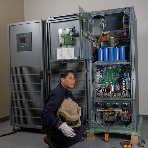 Start-UP Service for (1) Galaxy 5000/5500 81 to 130 kva UPS