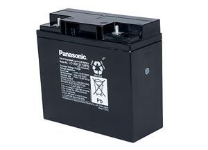 Panasonic olověná baterie LC-XD1217P 12V/17Ah
