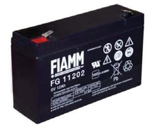 Fiamm olověná baterie FG11202 6V/12Ah