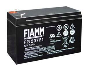 Akumulátor Fiamm FG20721 12V/7,2Ah Faston 4,8