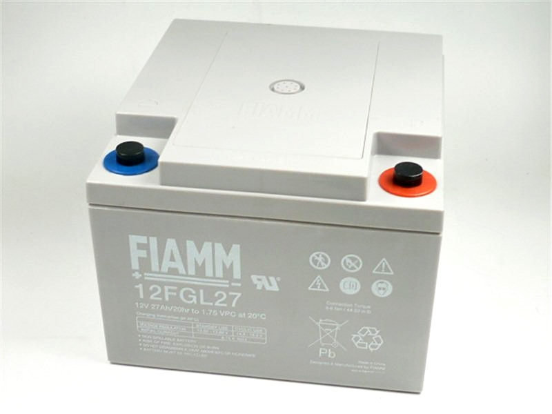 Fiamm olověná baterie 12 FGL27 - 12V/27Ah