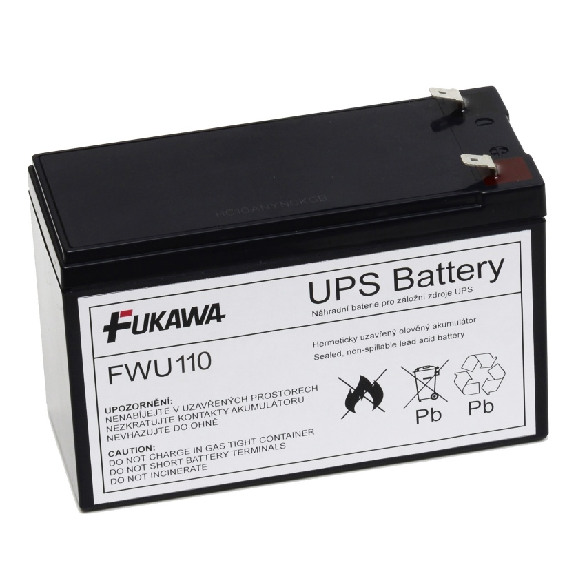 Akumulátor FWU110 náhrada za RBC110