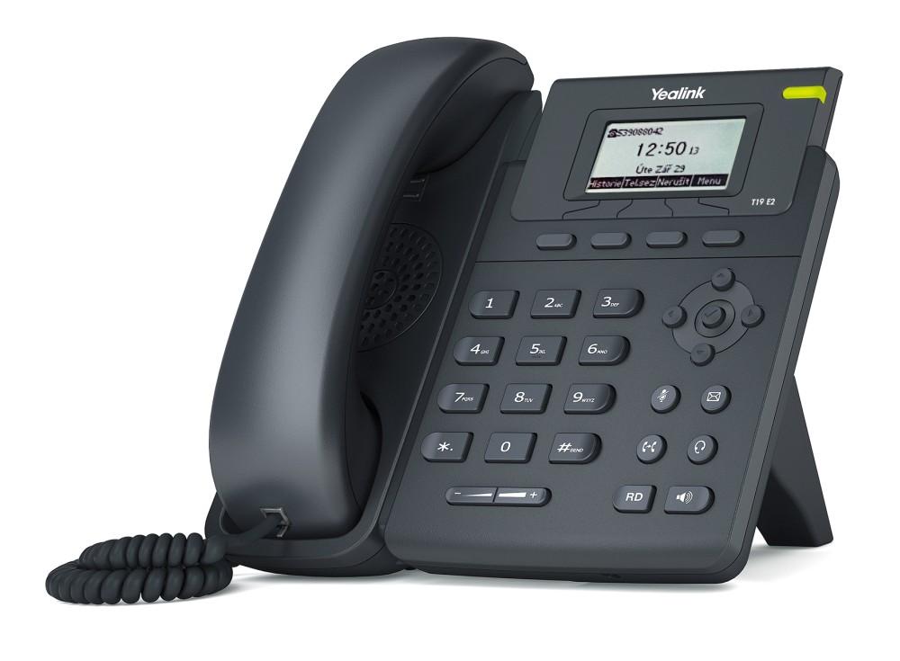 Yealink SIP-T19 E2 IP tel., 2,3' 132x64 nepodsv.