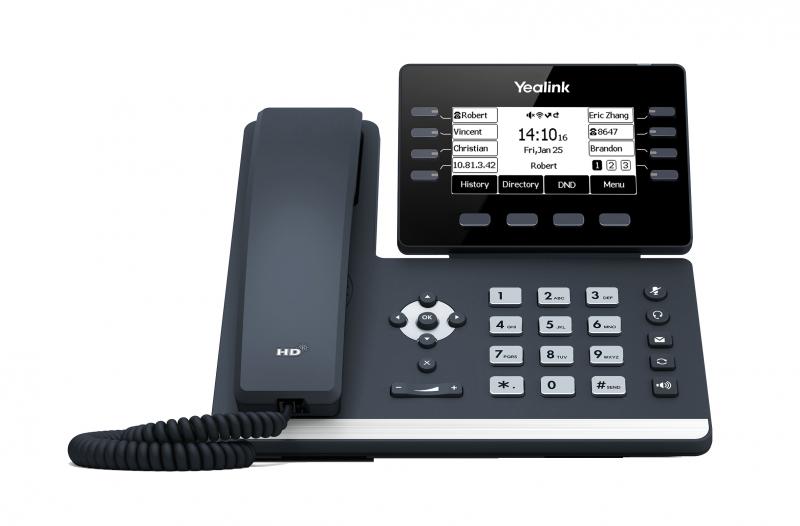 Yealink SIP-T53 IP. Tel., PoE, 3,7 bar. LCD, 8 prog. Tl - PV274498