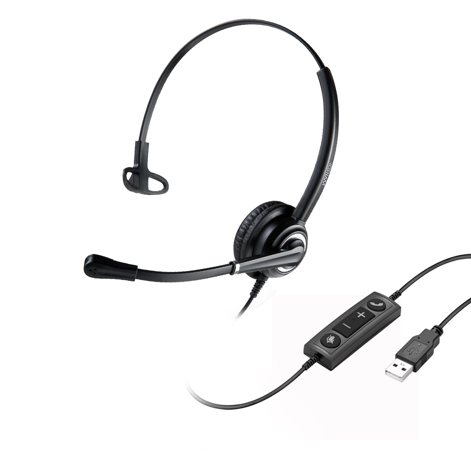 WELL Mairdi MRD-612 USB, náhlavka, jednoušní - 10001312
