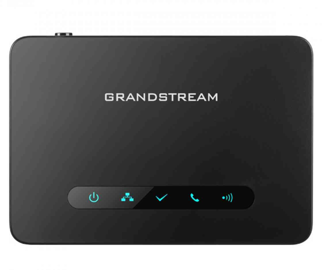 Grandstream DP750, IP DECT základnová stanice, max. 5ruček, HD voice, 10 SIP účtů, 5souběž. hovorů - DP750
