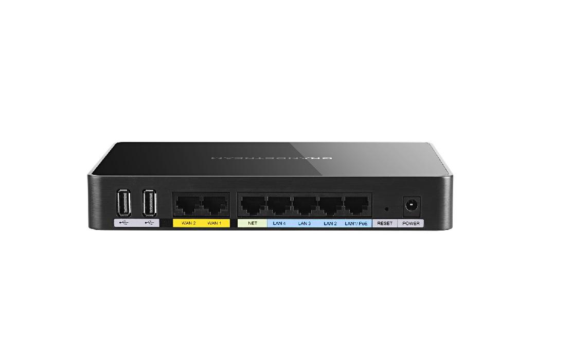 Grandstream GWN7000,enterp. router, 7xGbit portů(2xWAN,5xLAN), V