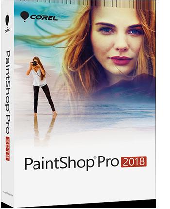 PaintShop Pro 2018 EN Mini-Box